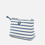 Barbour Sealand cosmetic bag Navy/Ecru Stripe photo- 1