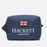 Косметичка Hackett London Print Navy фото- 0