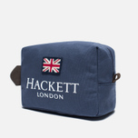 Косметичка Hackett London Print Navy фото- 1