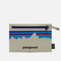 Косметичка Patagonia P-6 Fitz Roy Zippered Bleached Stone