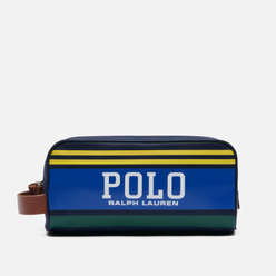 Косметичка Polo Ralph Lauren Big Polo Travel Nylon Navy/Yellow/Green