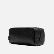 Косметичка Polo Ralph Lauren Tailored Pebble Leather Travel Small Black фото- 2