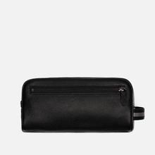 Косметичка Polo Ralph Lauren Tailored Pebble Leather Travel Small Black фото- 1