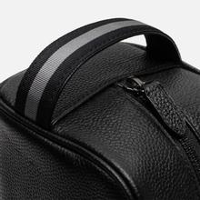 Косметичка Polo Ralph Lauren Tailored Pebble Leather Travel Small Black фото- 4