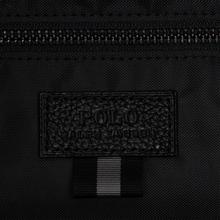 Косметичка Polo Ralph Lauren Tailored Pebble Leather Travel Small Black фото- 6