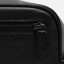 Косметичка Polo Ralph Lauren Tailored Pebble Leather Travel Small Black фото- 7