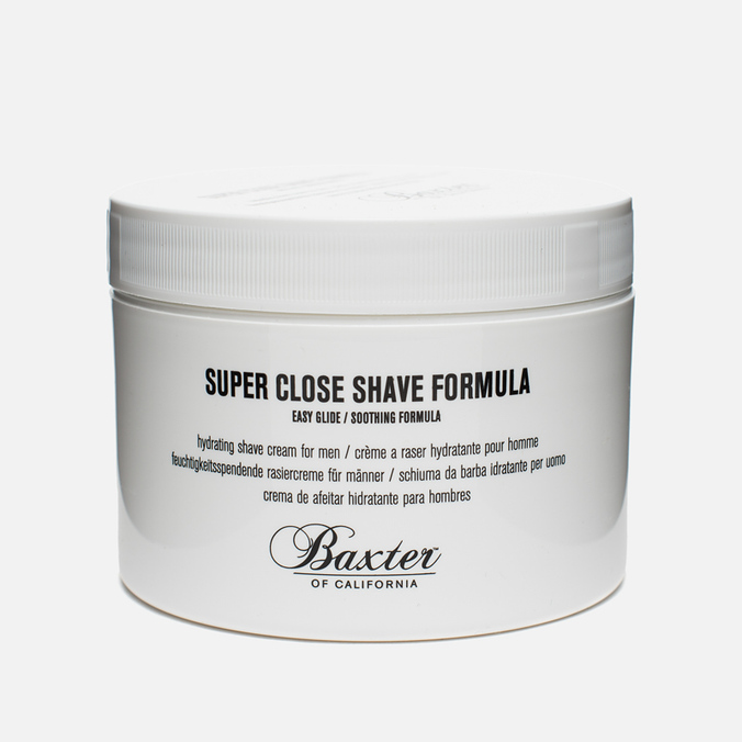 Крем для бритья Baxter of California Super Close Shave Formula 240ml