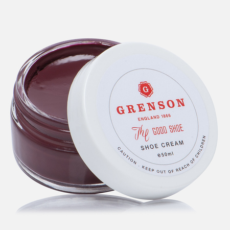 Крем для обуви Grenson Shoe Cream Burgundy