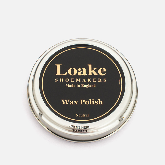 Средство для чистки обуви Loake Wax Polish Neutral