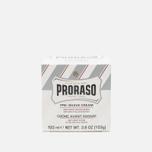 Proraso Green Tea And Oatmeal Pre-shave Cream 100ml photo- 1