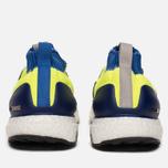 Кроссовки adidas Consortium Ultra Boost Mid Solar Yellow/Night Navy/Hi-Res Blue фото- 3