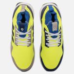 Кроссовки adidas Consortium Ultra Boost Mid Solar Yellow/Night Navy/Hi-Res Blue фото- 4