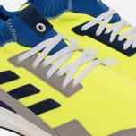 Кроссовки adidas Consortium Ultra Boost Mid Solar Yellow/Night Navy/Hi-Res Blue фото- 5