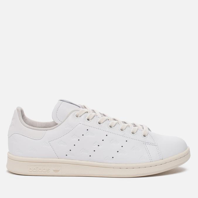 Мужские кроссовки adidas Consortium x Alife x Starcow Stan Smith Leather White/Off White