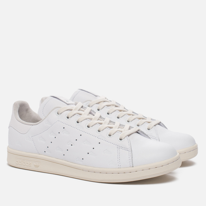 Мужские кроссовки adidas Consortium x Alife x Starcow Stan Smith Leather White/Off White