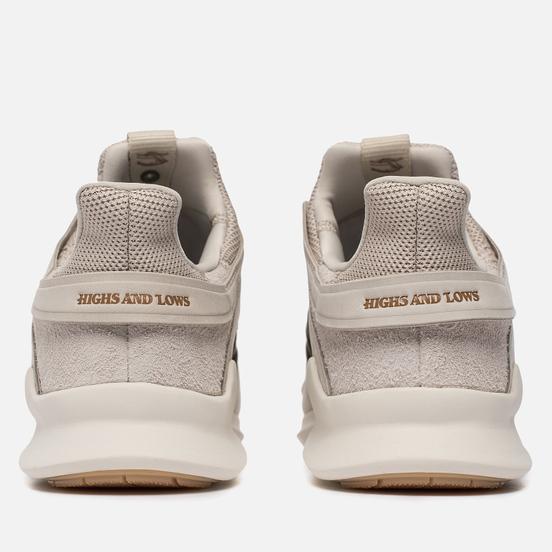 Мужские кроссовки adidas Consortium x Highs & Lows EQT Support ADV Sand/Rose Gold
