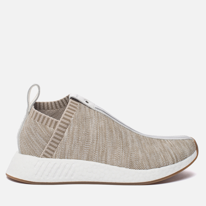 Кроссовки adidas Consortium x KITH x Naked NMD City Sock 2 Primeknit Sandstone