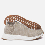 Кроссовки adidas Consortium x KITH x Naked NMD City Sock 2 Primeknit Sandstone фото- 1