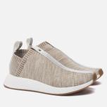 Кроссовки adidas Consortium x KITH x Naked NMD City Sock 2 Primeknit Sandstone фото- 2