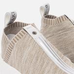 Кроссовки adidas Consortium x KITH x Naked NMD City Sock 2 Primeknit Sandstone фото- 3