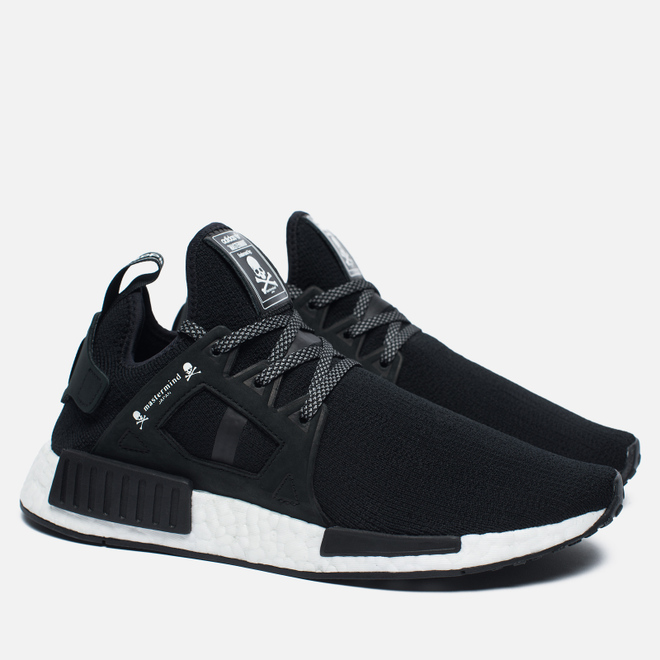 Кроссовки adidas Consortium x mastermind JAPAN NMD XR1 Statement Injection Pack Black/White
