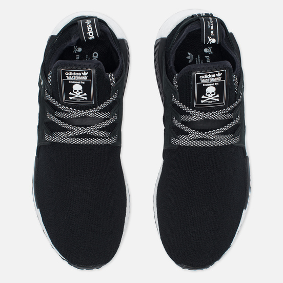 Кроссовки adidas Consortium x mastermind JAPAN NMD XR1 Statement Injection Pack Black/White
