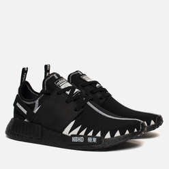 Кроссовки adidas Originals x Neighborhood NMD R1 Primeknit Core Black/Core Black/White