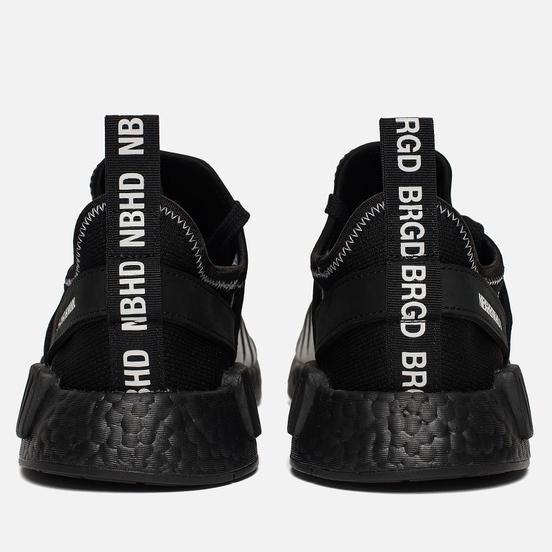 Кроссовки adidas Originals x Neighborhood NMD R1 Primeknit Core Black/Core Black/White