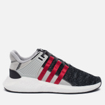 Мужские кроссовки adidas Consortium x Overkill EQT Support Future Black/Grey/White фото- 0