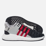 Мужские кроссовки adidas Consortium x Overkill EQT Support Future Black/Grey/White фото- 1