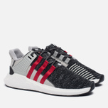 Мужские кроссовки adidas Consortium x Overkill EQT Support Future Black/Grey/White фото- 2