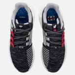 Мужские кроссовки adidas Consortium x Overkill EQT Support Future Black/Grey/White фото- 4