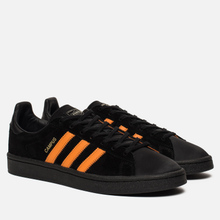 Кроссовки adidas Originals x Porter Campus Core Black/Bright Orange/Core Black фото- 0