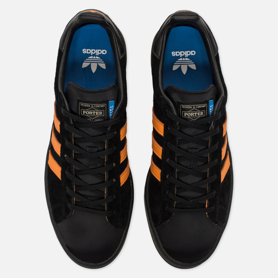 Кроссовки adidas Originals x Porter Campus Core Black/Bright Orange/Core Black