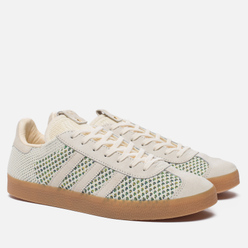 Мужские кроссовки adidas Consortium x Sneaker Politics Gazelle Primeknit Cream White/Gum