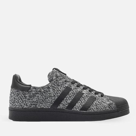 Мужские кроссовки adidas Consortium x Sneakersnstuff x Social Status Superstar Boost Black/White