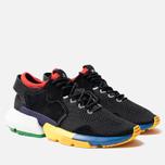Кроссовки adidas Consortium x Social Status POD-S3.1 Core Black/Blue/Bright Yellow фото- 2