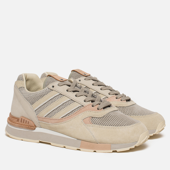 Мужские кроссовки adidas Consortium x Solebox Quesence Cream White/Cream White/Sesame