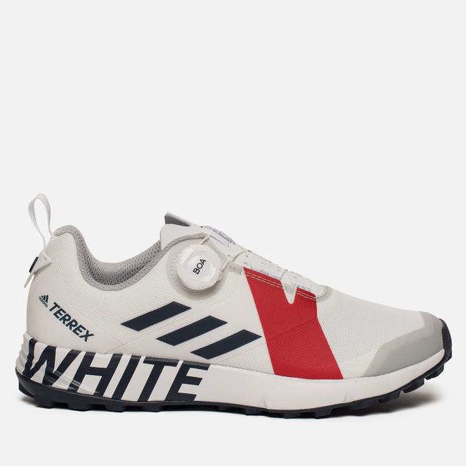 Кроссовки adidas Performance x White Mountaineering Terrex Two Boa White/Collegiate Navy/Red