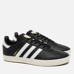 adidas Originals 350 Sneakers Black/White/Gold Metallic photo- 1