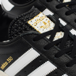 Кроссовки adidas Originals 350 Black/White/Gold Metallic фото- 5
