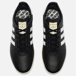 Кроссовки adidas Originals 350 Black/White/Gold Metallic фото- 4