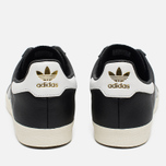 Кроссовки adidas Originals 350 Black/White/Gold Metallic фото- 3