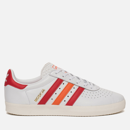 Кроссовки adidas Originals 350 White/Scarlet/Orange