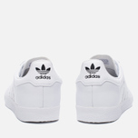 Кроссовки adidas Originals 350 White/White/Core Black фото- 3