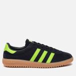 Кроссовки adidas Originals Bermuda Core Black/Green/Gum фото- 0