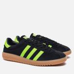 Кроссовки adidas Originals Bermuda Core Black/Green/Gum фото- 2