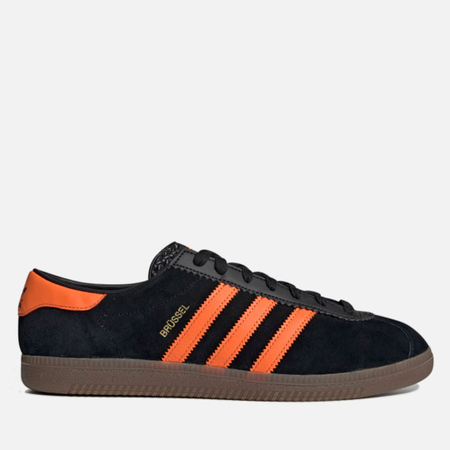 f9df0ab21eac adidas Originals Кроссовки Brussels Core Black Orange Gold Metallic