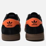 Кроссовки adidas Originals Brussels Core Black/Orange/Gold Metallic фото- 3