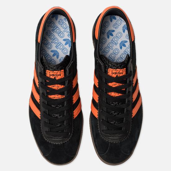 Кроссовки adidas Originals Brussels Core Black/Orange/Gold Metallic